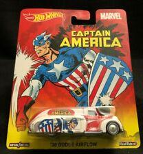 Hot Wheels Captain America  Pop Culture Series '39 Dodge