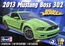 Revell 1:25 2013 Mustang Boss 302 Muscle Plastic Model Kit #4187