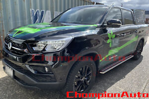 SsangYong Musso / Musso XLV Dual Double Cab 4 DOORS Side Steps 2019 2020+ (S5)