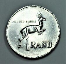 Südafrika 1 Rand 1978 - Springbock - Cu-Ni - vz / xf