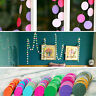 New! Paper Garland Strings Circle Wedding Party Baby Shower Hanging Decoration
