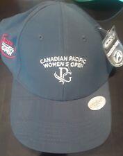 New Canadian Pacific Women's Open Golf Hat Baseball Cap Navy Blue Ahead NWT