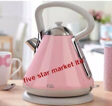 EGL Pyramid Kettle Pink 1.7L Capacity Brand New