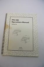 MJ Research PTC-100 Operations Manual V7.0