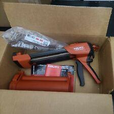 Hilti Hdm500 Hdm 500 Red Cartridge Adhesive Epoxy Dispenser