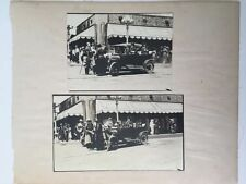 2 Early 1920's Charlie Chaplin Original Movie Stills