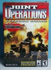 PC Shooter Joint Operations Typhoon Rising Original Small Box Version Complete