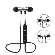 Casque Écouteur Bluetooth Sans Fil Sport Magnetique Mains-libres Oreillette Neuf
