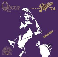 QUEEN - LIVE AT THE RAINBOW (DELUXE VERSION) 2 CD NEU