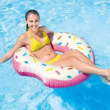 Intex Inflatable Donut Tube Pool Float Lounger Beach Swimming Toy Lilo Swim Ring