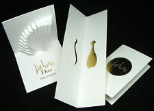 DIOR J'ADORE COLLECTABLE PERFUME CARD BLOTTER MOUILLETTE 3 UNITS