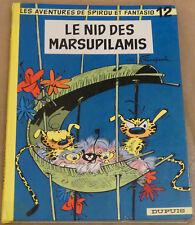 SPIROU ET FANTASIO -12- / Le nid des marsupilamis / 1964 / BE-