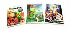 Lot Of 3 Kid's Dvd's Kermit's Swamp Years, Muppets, The Muppets Take Manhattan