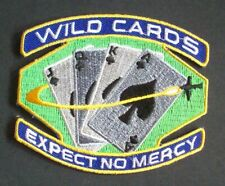 "Space Above And Beyond ""Wild Cards"" Embroidered Patch -new"