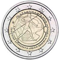 Griechenland 2 Euro Gedenkmünze 2010 bfr. 2500 Jahre Schlacht von Marathon