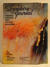 Lapidary Journal Magazine 1965 November The Flamingos Microphoto of Petrified.