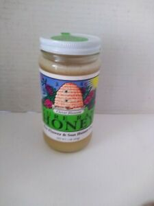 BEE FLOWER & SUN HONEY Clover Blossom Honey 1 LB