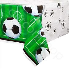 Football Party Plastic Table Cover Cloth PVC Boys Birthday Tableware Supplies