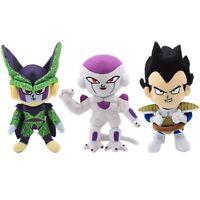 "12"" Dragon Ball Z Vegeta Frieza Cell Plush Toy Soft Stuffed Doll DBZ Figure Gift"