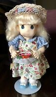 Precious Moments Doll Garden of Friends BLOSSOM August #1462