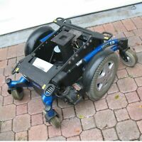 INVACARE TDX SP GP BASE MOTORS WHEELS ASSY WHEELCHAIR BASE FOR POWERED SEAT