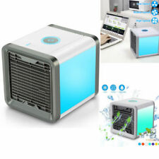 Mini Desktop Air Conditioner USB Rechargeable Small Fan Cooling Portable Cooler