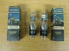 2 NEW OLD STOCK ARCTURUS RADIO TUBES 2Y2 IOB