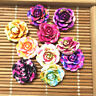 hot 20pcs MIX Resin Rose Flower flatback Appliques For phone/wedding/crafts