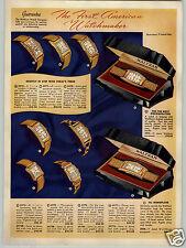 1939 PAPER AD 8 PG Waltham Wrist Pocket Watch Monoplane Ultra Modern Skyliner