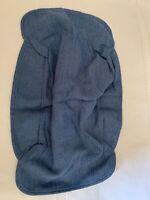 Longaberger Cornflower Brownie Basket Liner nip blue fabric