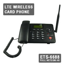 4G Wireless GSM Desk Phone SIM Card W/ WIFI Sharing Home Desktop Fixed Telephone