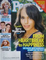 KERRY WASHINGTON Nov. 18, 2013 PEOPLE Magazine LINDSAY LOHAN / KRISTEN STEWART