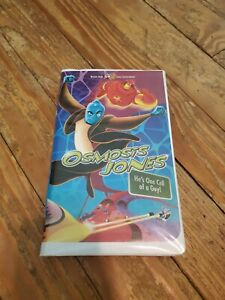 Osmosis Jones (VHS, 2001, Clamshell Packaging) Good Condition
