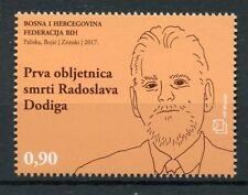 Bosnia & Herzegovina 2017 MNH Radoslav Dodig First Memorial Anniv 1v Set Stamps