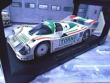 PORSCHE 962C 962 C Mugello 1985 #19 Torno Brun Bellof Boutsen S-Prei Norev 1:18