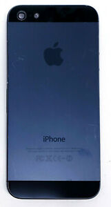 Genuine Black Back Housing Mid Frame Door Replace For Apple iPhone 5 5S A1429