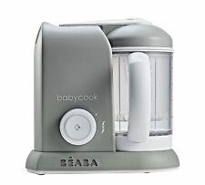 Beaba Baby-Cook 4 in 1 Baby Food Processor - Grey