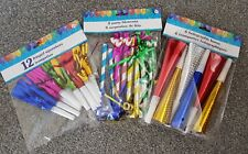1 Party Blower/Blowout/ Birthday Loot Bag Filler Foil Noise Toy Christmas Party