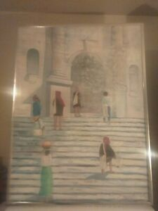 Oil Paintings Artwork Hand Painted Canvas Signed....BARWELL.