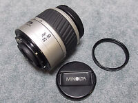 MINOLTA AF ZOOM 35-80 1:4(22)-5.6 LENS WITH FILTER FOR MAXXUM CAMERA