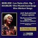 ustav Mahler^Hector Berlioz - Berlioz and Mahler Songs [CD]