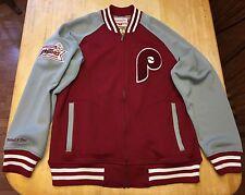 Mens Mitchell & Ness Philadelphia Phillies World Champions Jacket Large