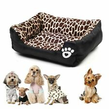 Large Dog Bed Pet Cat's Bed Warm Cozy Bed for Cats Fleece Nest for Small Dogs
