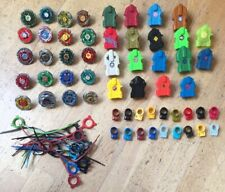 Beyblade Bundle - 20 Metal Fusion Beyblades And Launchers - Joblot - Free P&P