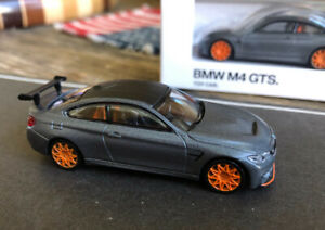 BMW M Collection M4 GTS Charcoal 1/64 die cast hongwell schuco mini gt paragon