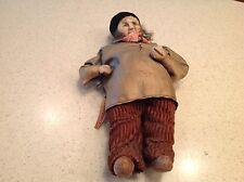 "Vintage Ravca Doll Tagged Woman Man France 9.5"""