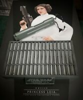1/6 Hot Toys Star Wars Princess Leia MMS298 Nameplate Display Stand