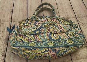 Vera Bradley Lola in Capri Blue - Purse - Handbag - Bag - Paisley