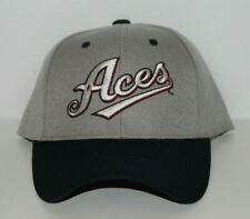 Reno Aces Baseball Cap Hat with Adjustable Strap by Melonwear (Grey & Navy)