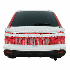 Red & White Car Parade Decorating Kit - Party Decor - 5 Pieces